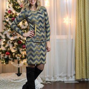 LuLaRoe Debbie Dress Elegant